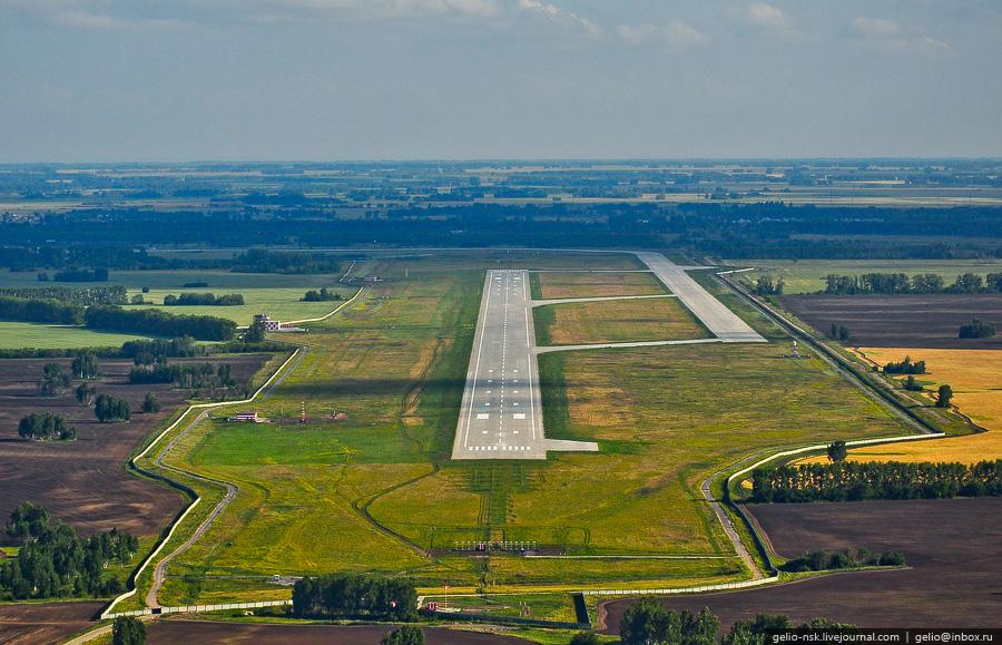 Новая впп аэропорта толмачево