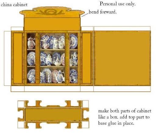 Мебель для кукол из бумаги своими руками видео