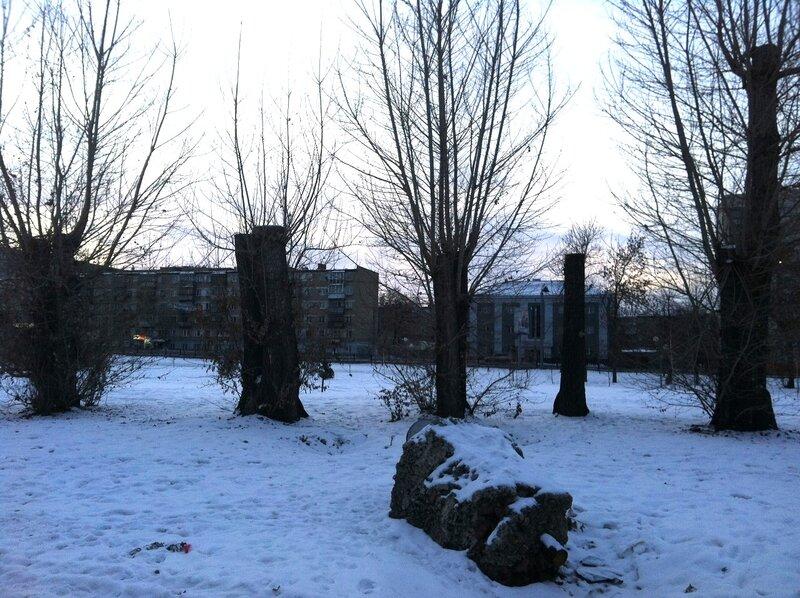 Руины Храма Девяти муз