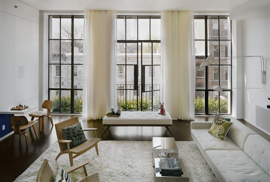Апартаменты на 7th Street в Нью-Йорке от Pulltab Design