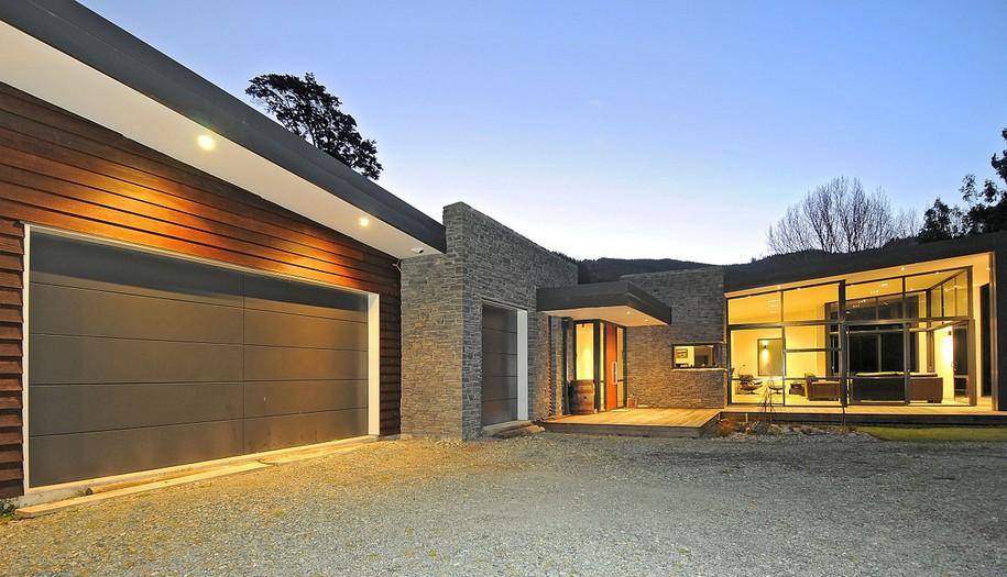 Dulieu Residence в Новой Зеландии от Studio MWA
