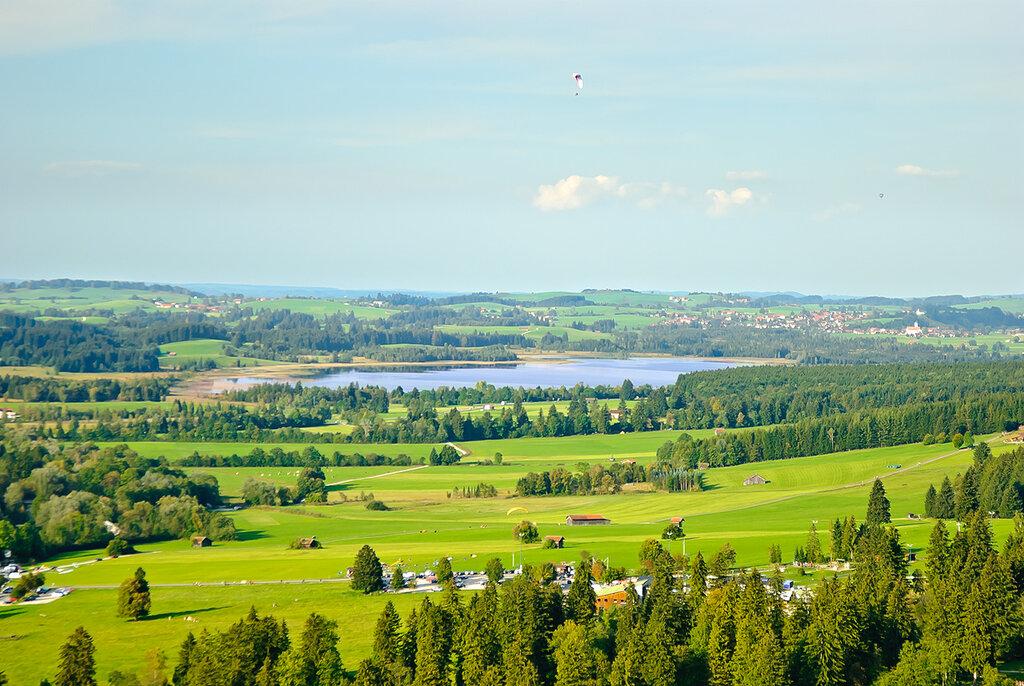 полет над озером Баннвальд