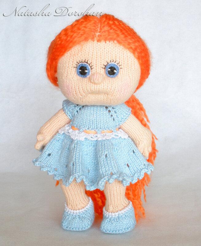 вязаные куклы марины голден