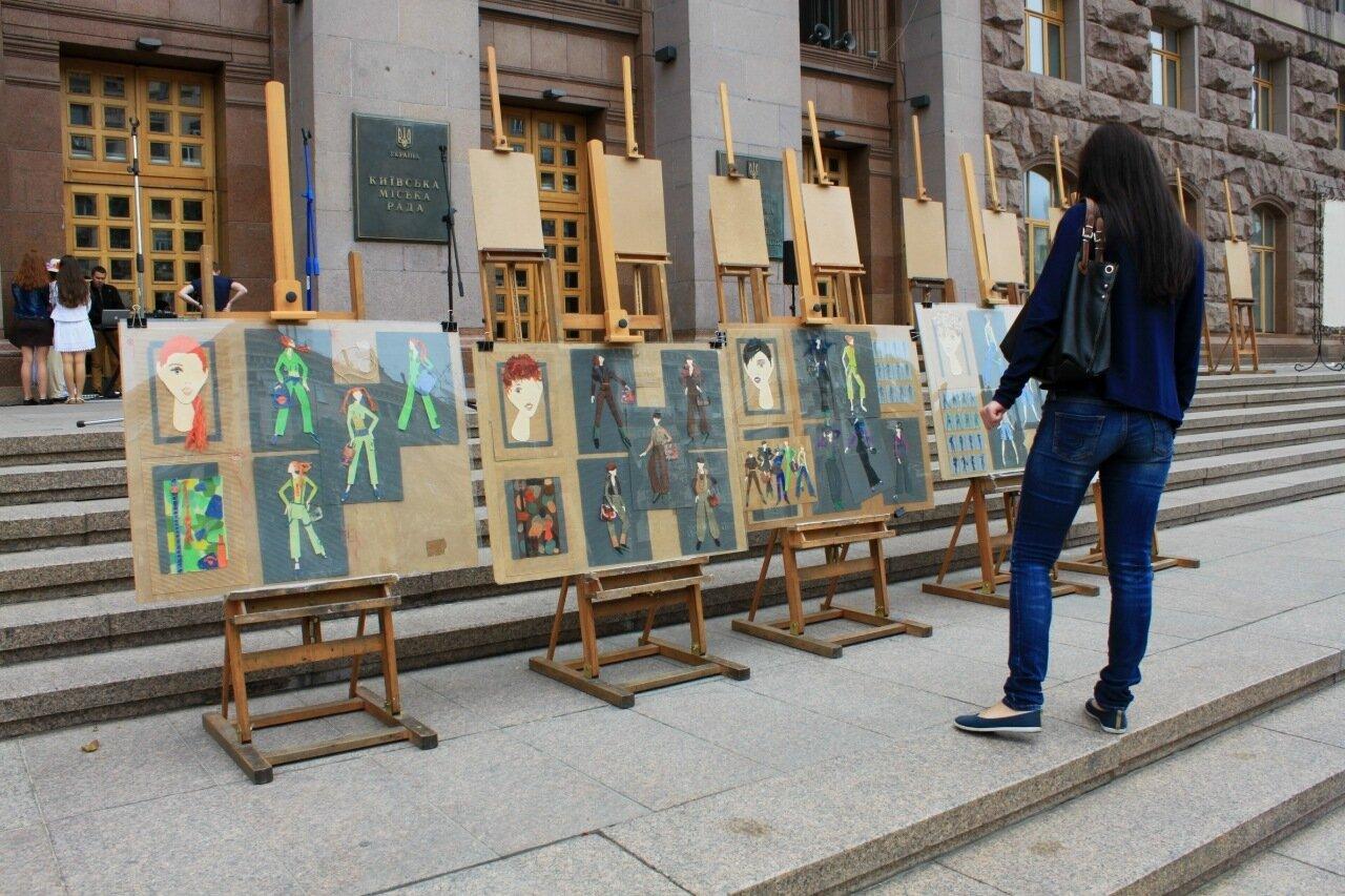 проект дизайн выставка крещатик киев