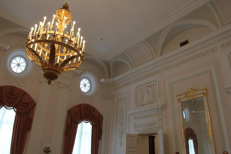 Петровский дворец экскурсия