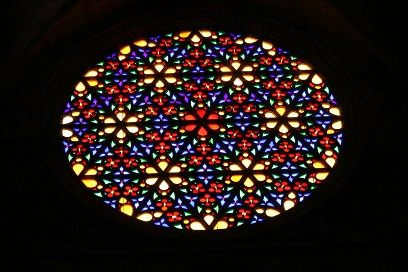Витражи Кафедрального Собора