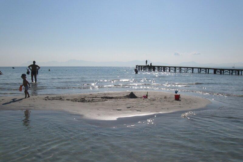 Майорка, пляж в Алькудии