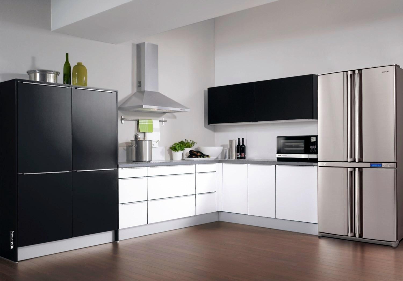 Холодильники side by side в интерьере