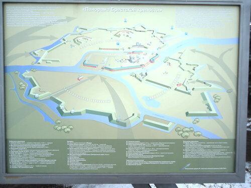 Брестская крепость. Панорама