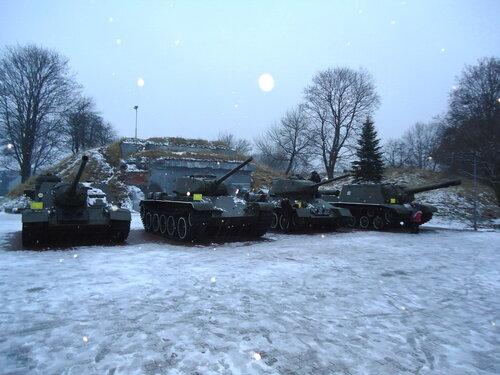 Брестская крепость. Выставка образцов военной техники