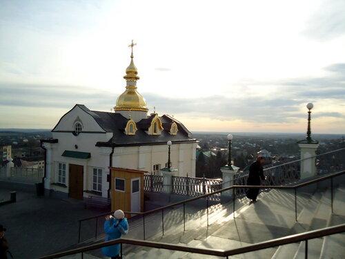 Почаевская лавра. Вид на окрестности