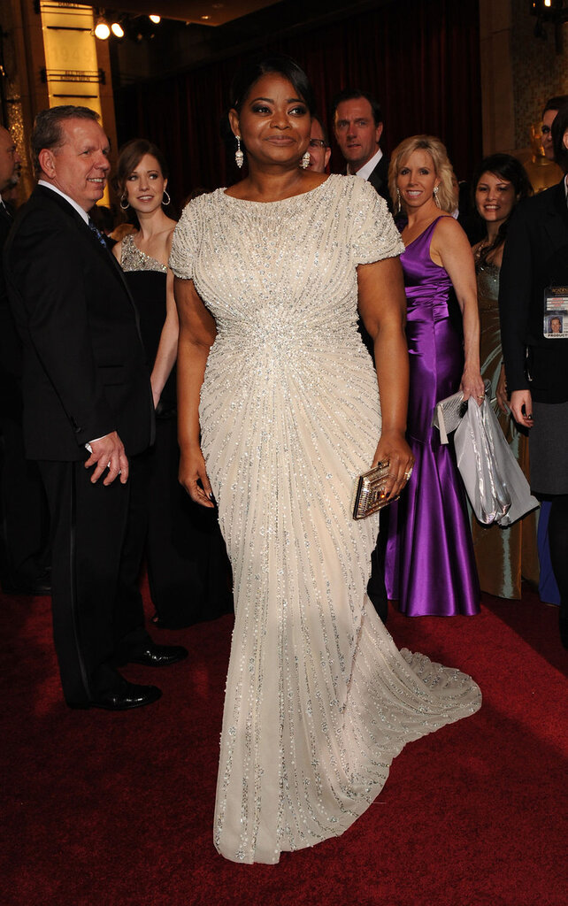 Actress Octavia Spencer arrives for the 84th Academy Awards in Los Angeles