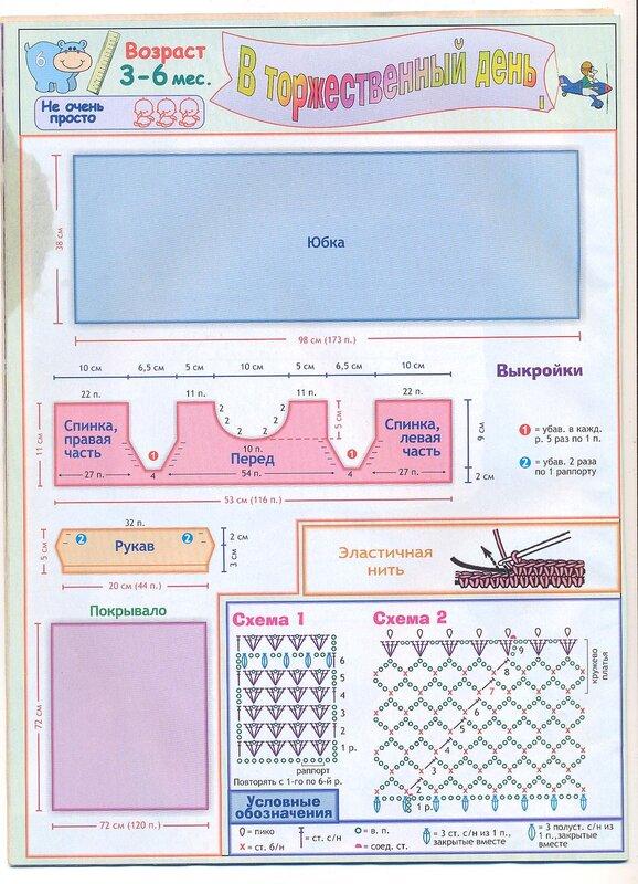 Крестильный набор для девочки схемы вязания крючком