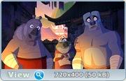 Кунг-Фу Панда: Секреты мастеров / Kung Fu Panda: Secrets of the Masters (2011/DVDRip)