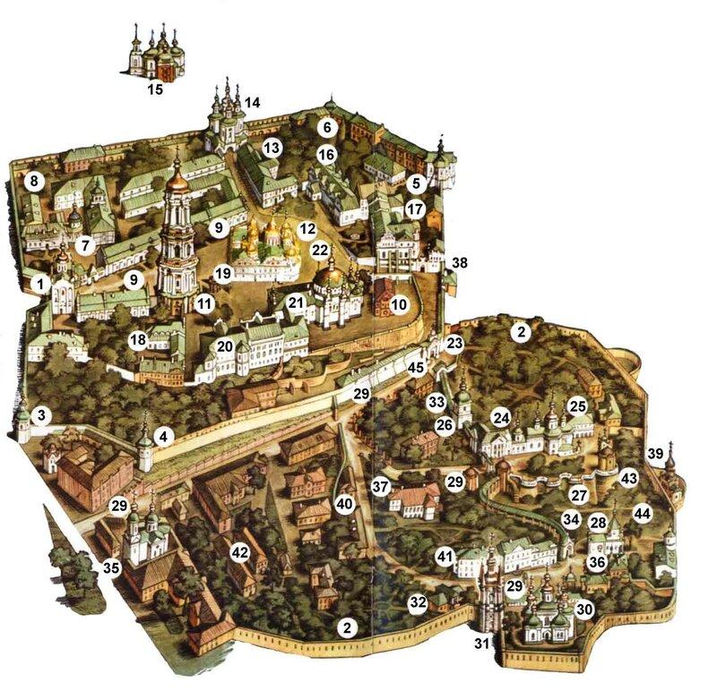Первые летописные упоминания пещер приходятся на 1051 год.  Сперва в пещерах жили...  Пещеры киевско -печерской лавры.