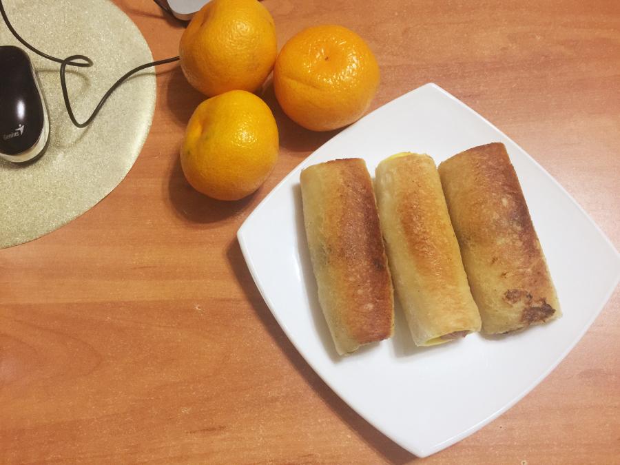 Хлебные трубочки