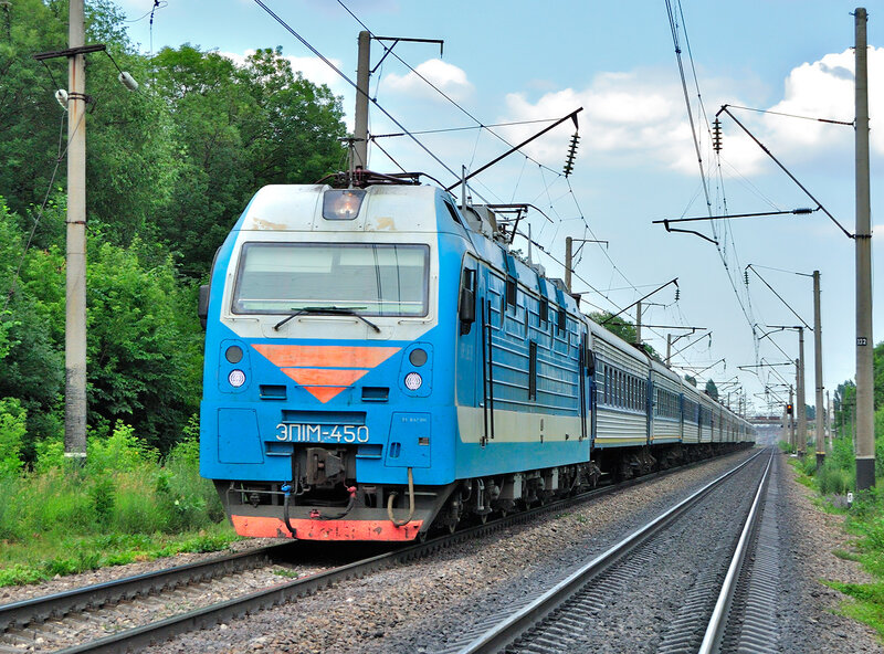 doktor-monk Электровоз ЭП 1М быстрый железный путь тяга шустрый электровоз.
