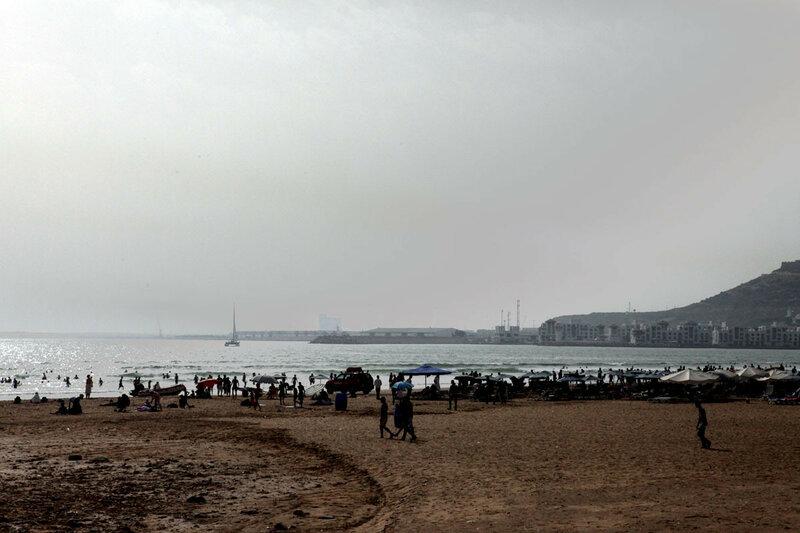 Агадир - океан, пляж