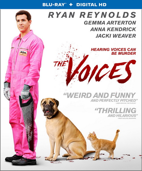 Голоса / The Voices (2014/BDRip/HDRip)