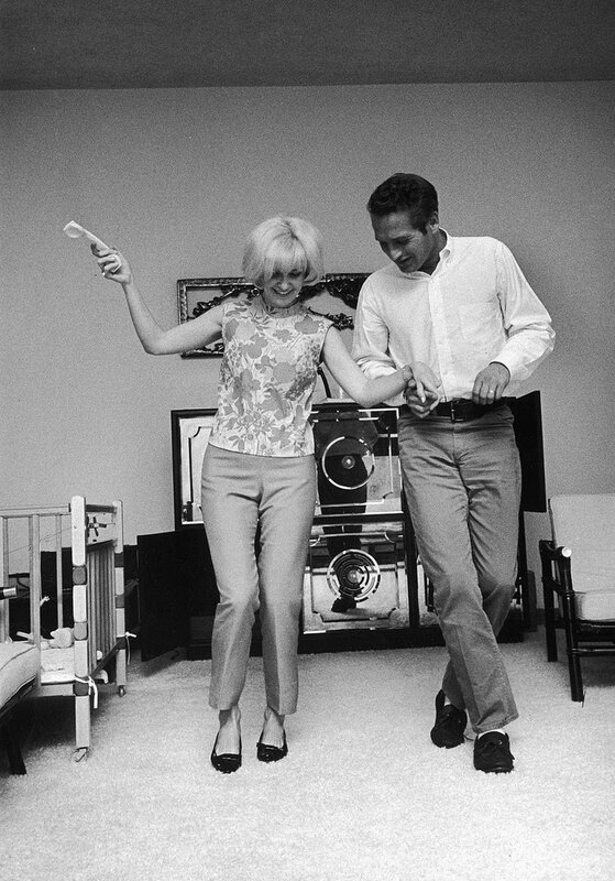 Joanne Woodward and Paul Newman, 1960