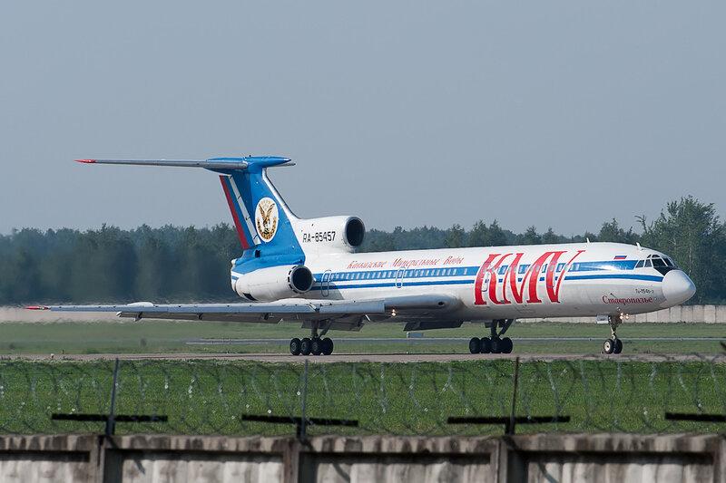 Туполев Ту-154Б-2 (RA-85457) КМВ - Кавказские Минеральные Воды DSC2793