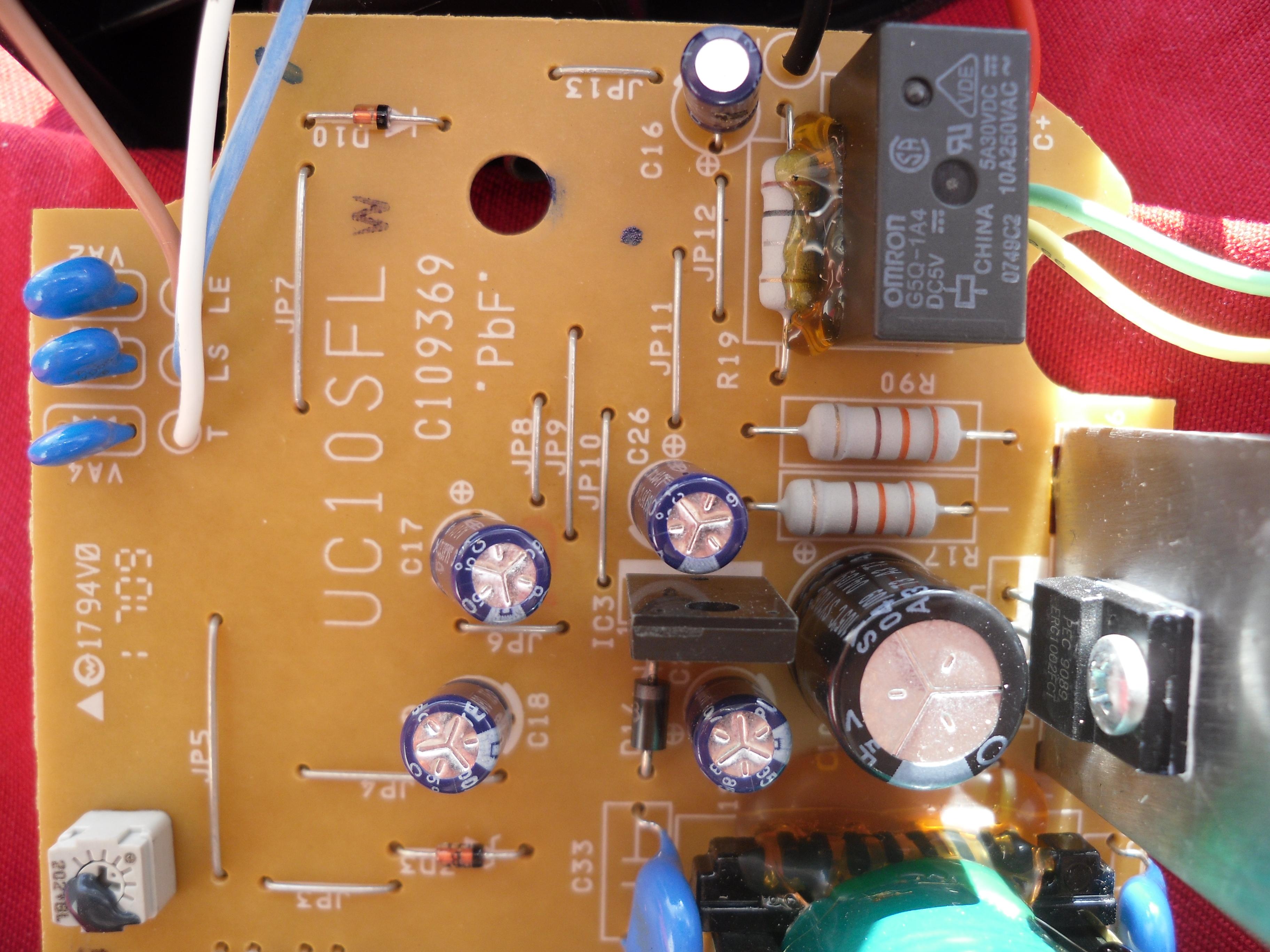 Hitachi uc10sfl схема