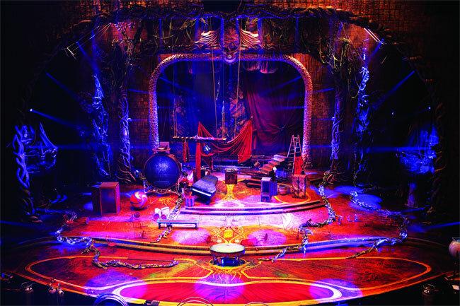 """Итак, 19 февраля мне посчастливилось попасть на самое масштабное шоу Цирка дю Солей под названием  """"Zarkana """"."""