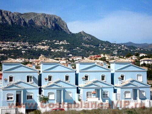 таунхаус в Calpe, таунхаус в Кальпе, таунхаус в Испании, недвижимость в Испании, таунхаус на Коста Бланка, Коста Бланка, CostablancaVIP