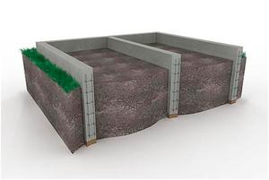Монолитный ленточный фундамент под частный дом