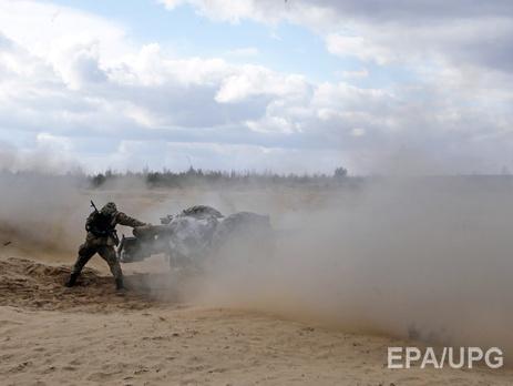 Украинские военные заявили о15 обстрелах своих позиций вДонбассе