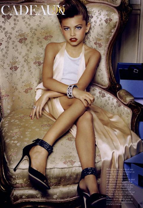 Самые маленькие модели журнала Vogue.