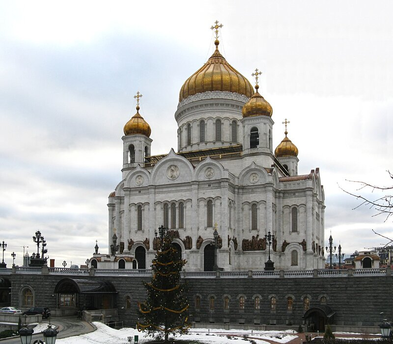 Cathedral of Christ the Saviour, Moscow