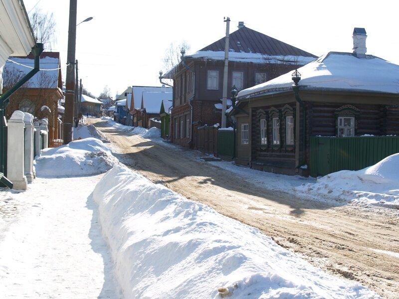 Улица рядом с домом Левитана