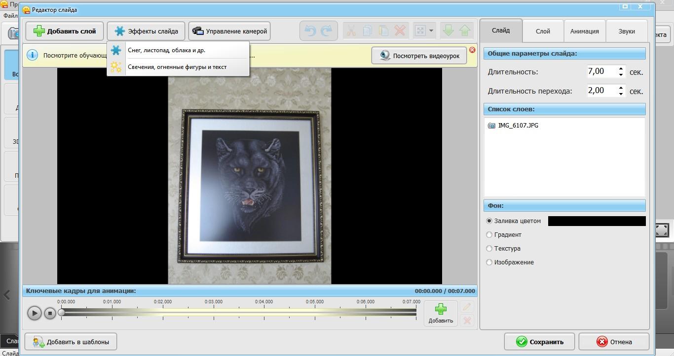 скриншот программы фото шоу 3