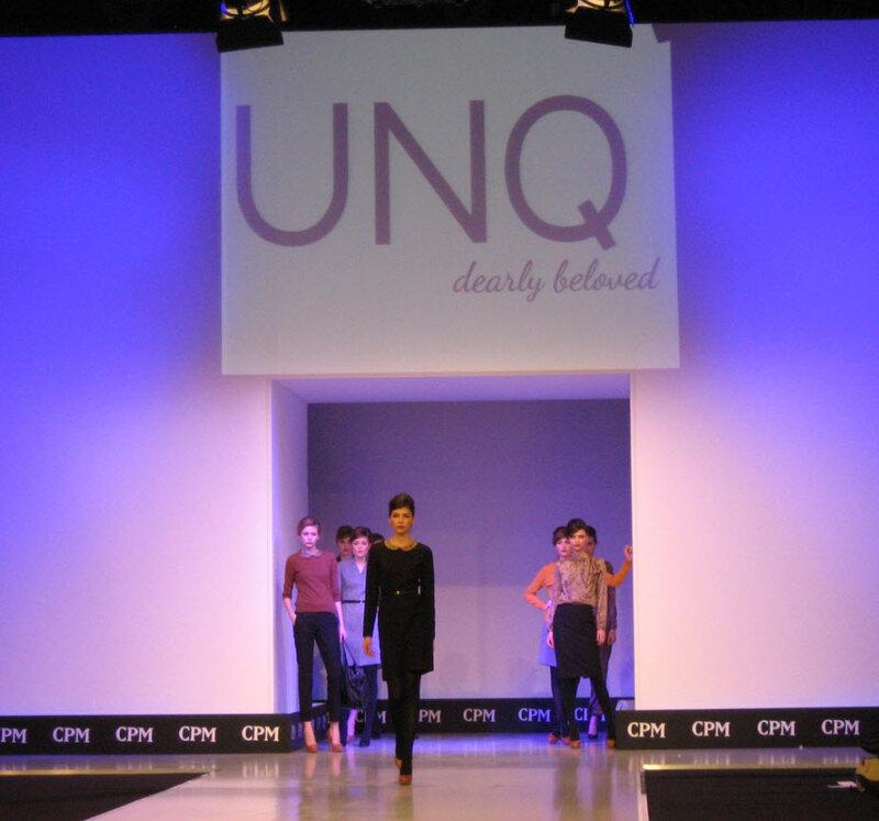 UNQ на выставке моды CPM 2012