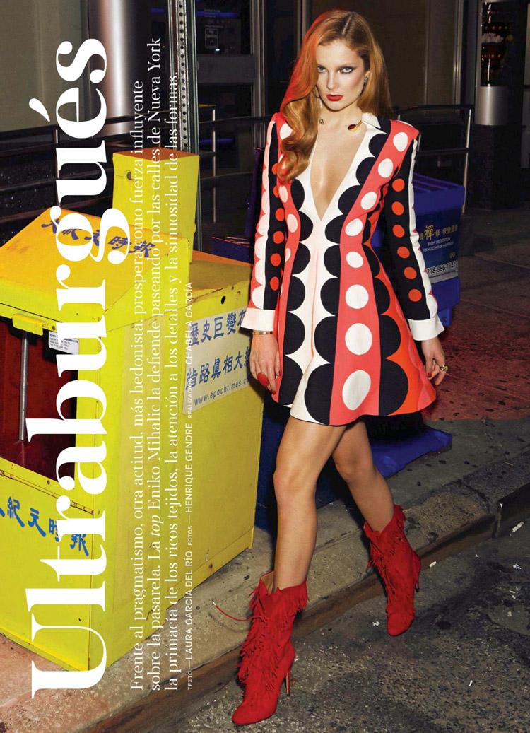 Энико Михалик (Eniko Mihalik) в журнале S Moda
