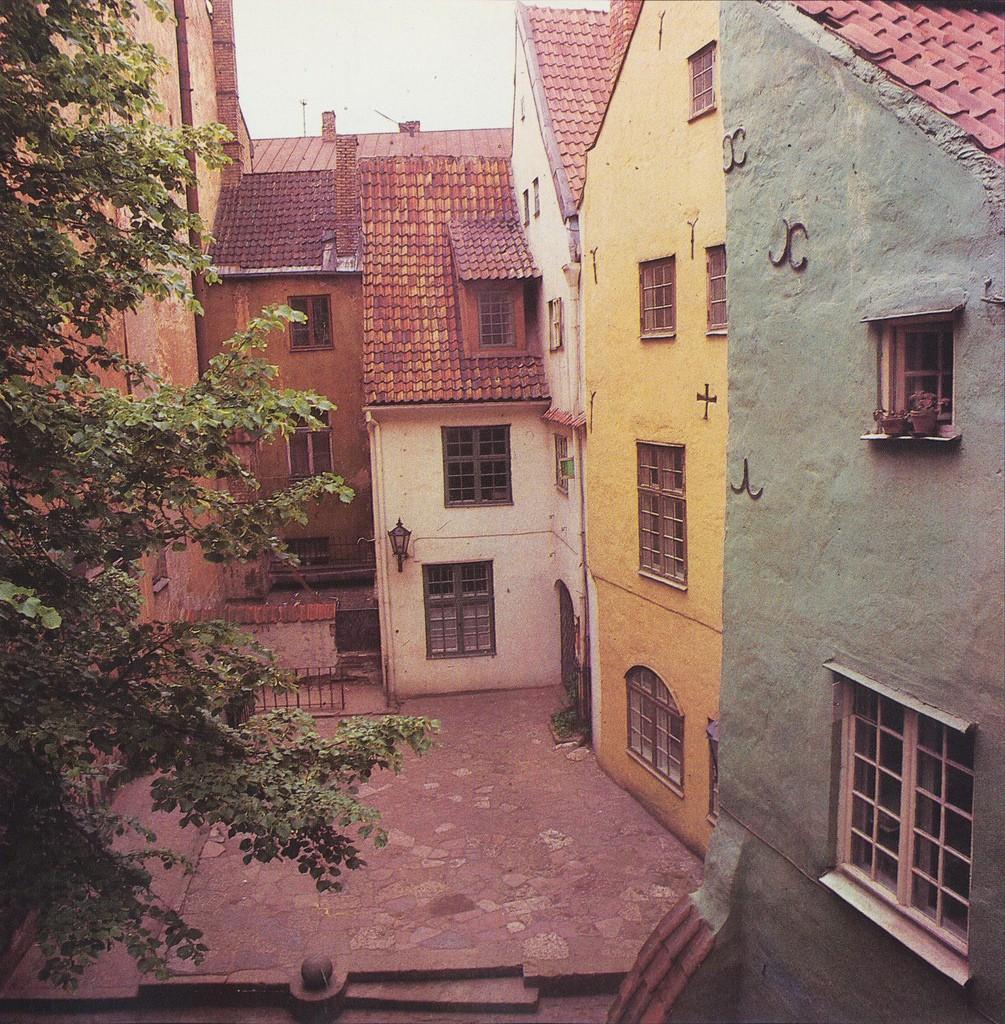 8. Три Брата — комплекс старинных зданий в центре Старой Риги.
