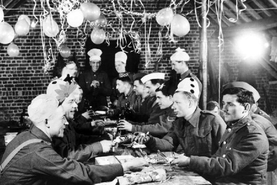 Рождественский ужин на протяжении веков»