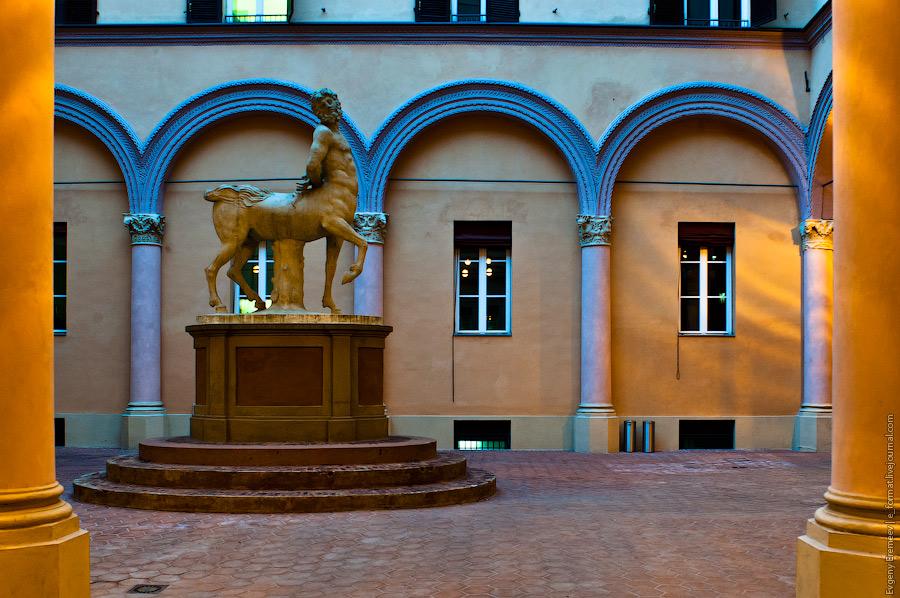 кентавр в Болоньи - это не только конь, но и человек