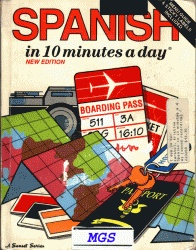 Аудиокнига Spanish in 10 Minutes a Day