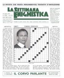 Журнал La Settimana Enigmistica № 4352
