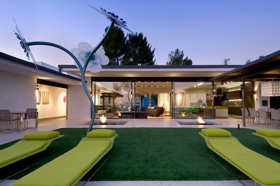 Особняк Hopen Place в Голливуде от Whipple Russell Architects