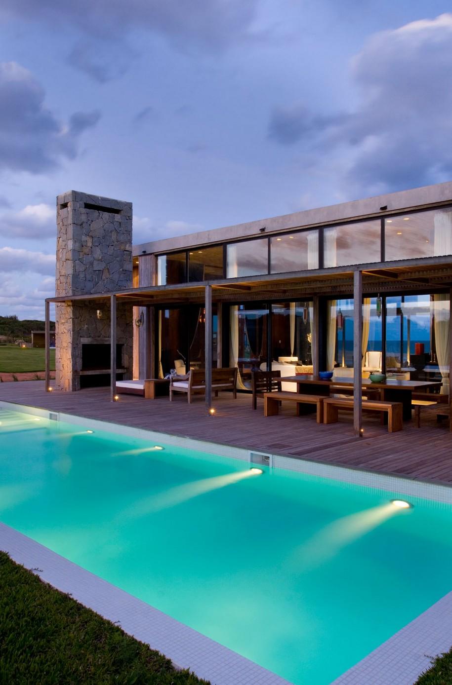 La Boyita Residence в Уругвае от Martin Gomez Arquitectos