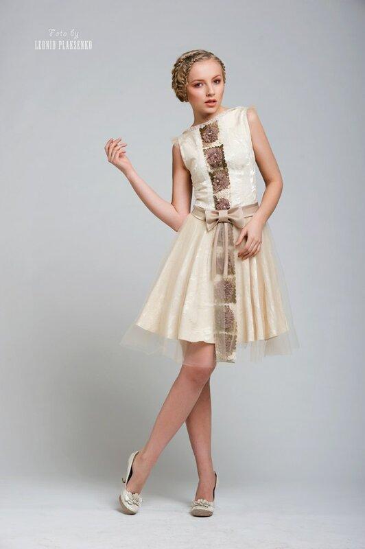 Платье на выпускной в винтажном стиле