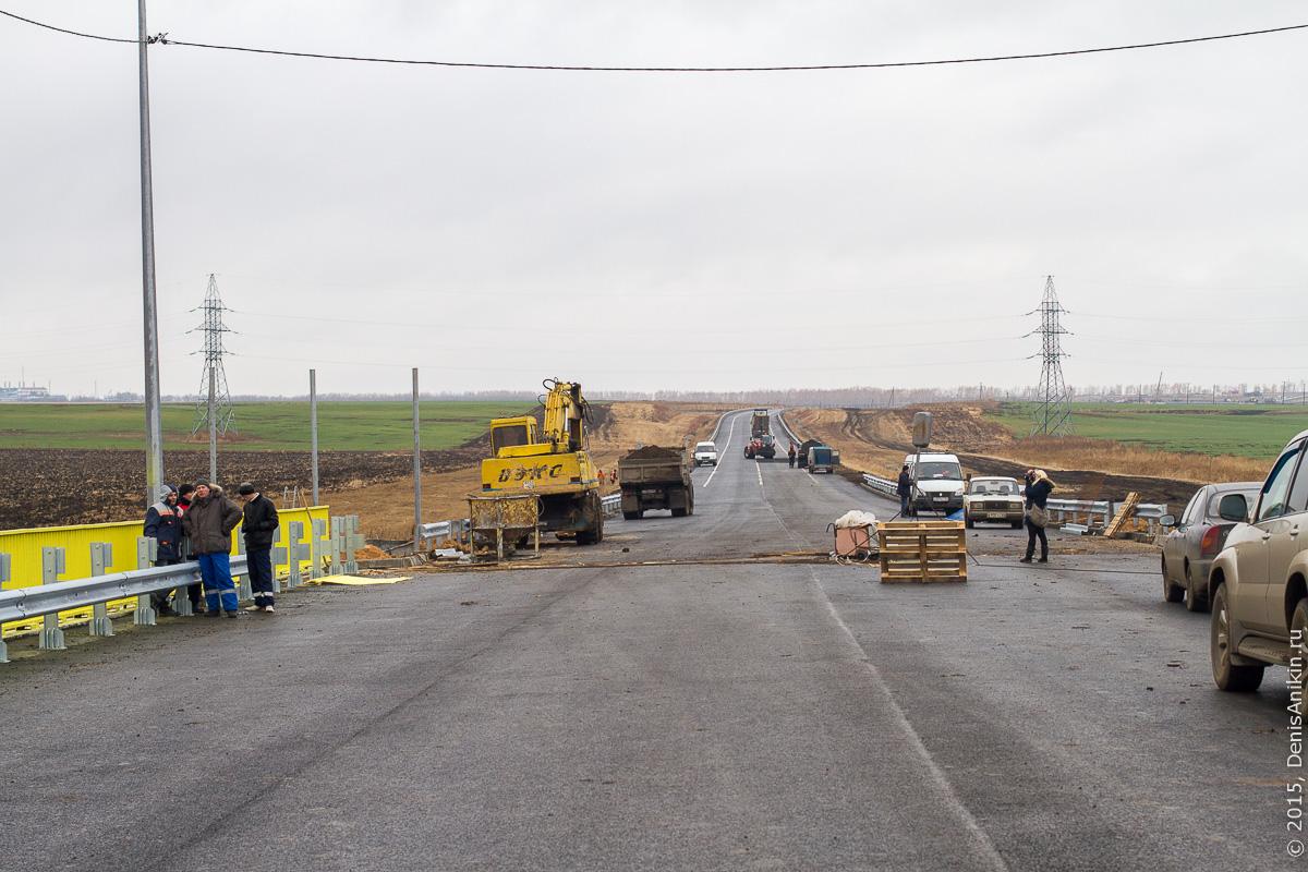 Строительство автодороги в обход Елшанки 15
