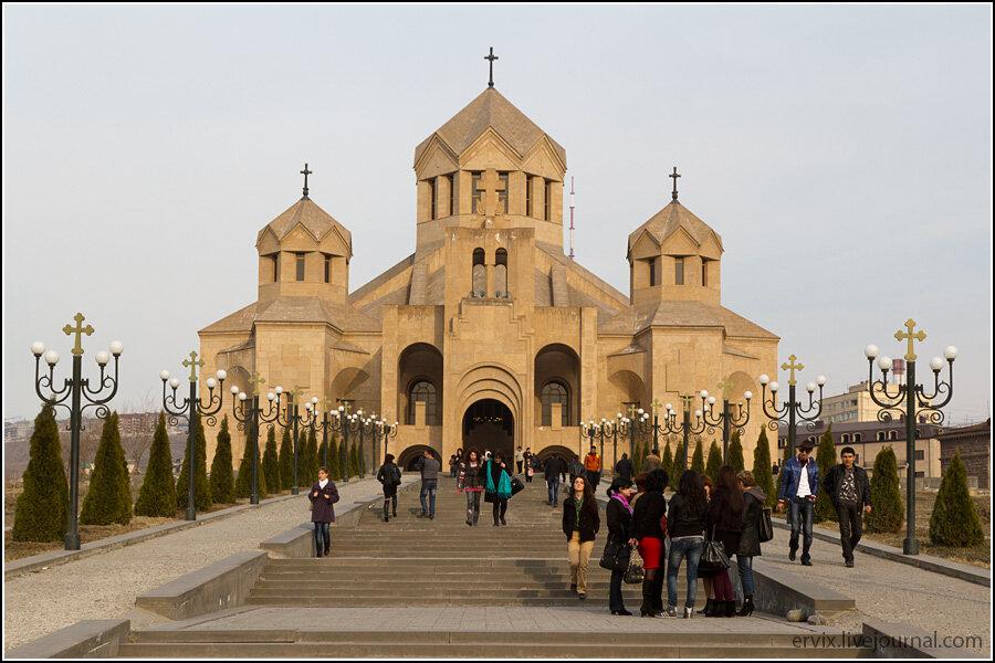 Ереван. собор Святого Григория Просветителя