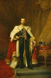 Король Англии Георг V
