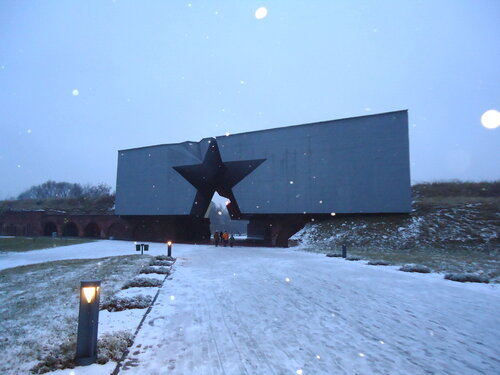 Брестская крепость. Главный вход