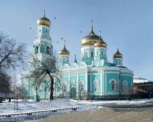 Казанский кафедральный собор города Сызрани.