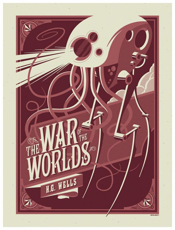 Великолепная коллекция постеров в ретро стиле от иллюстратора Strongstuff ака Том Уэлен